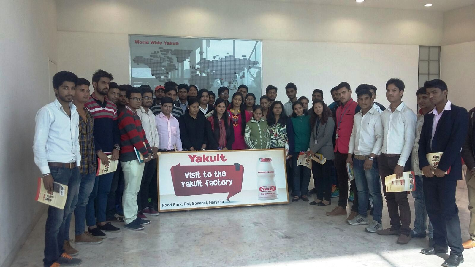 industrial visit report on yakult Industrial visit yakult danone (10th august, 2017) the one-day industrial visit for the 5 th semester students (section b,c,d) of the department of mechanical.